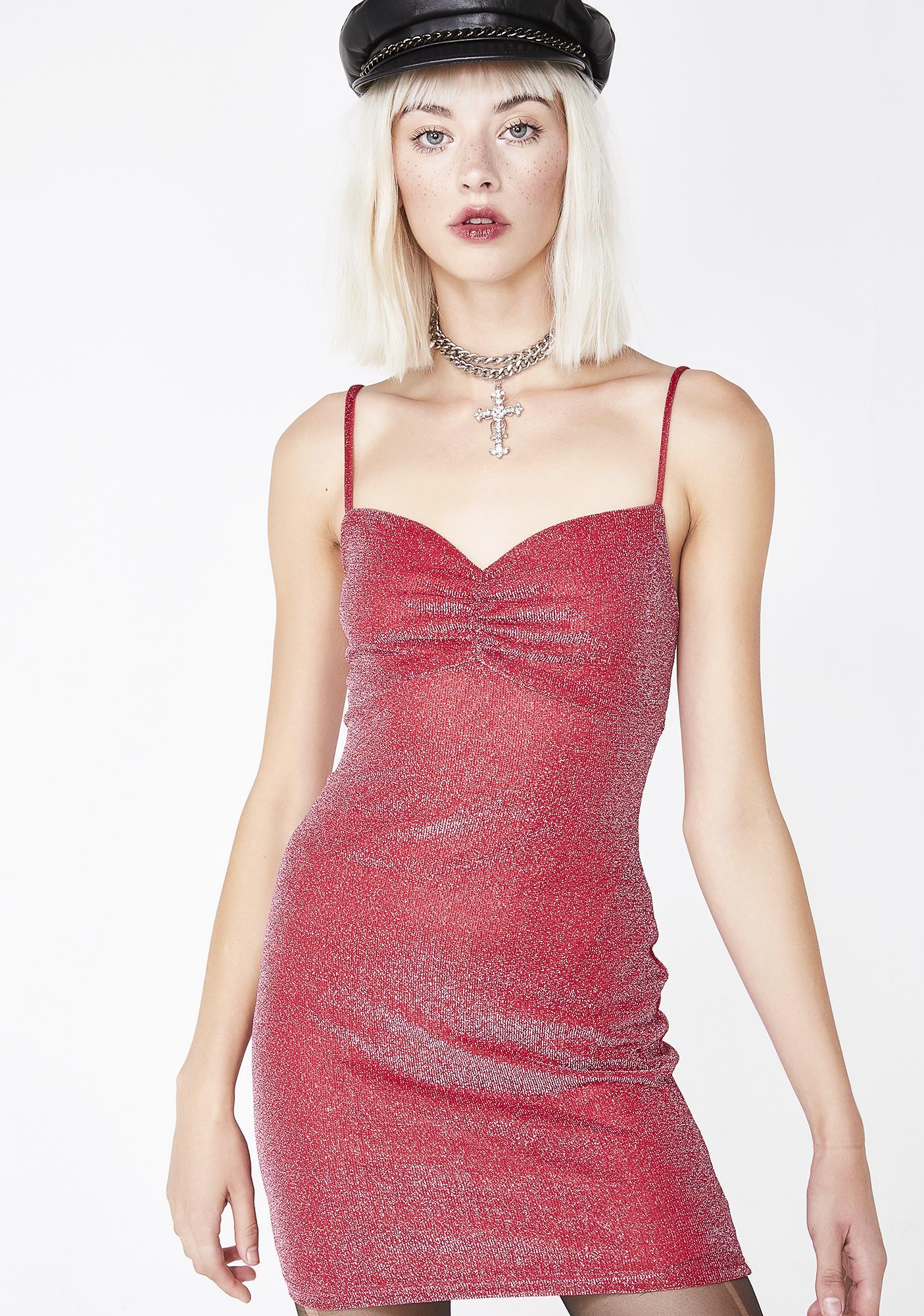 Sunrise Dancer Shimmer Dress
