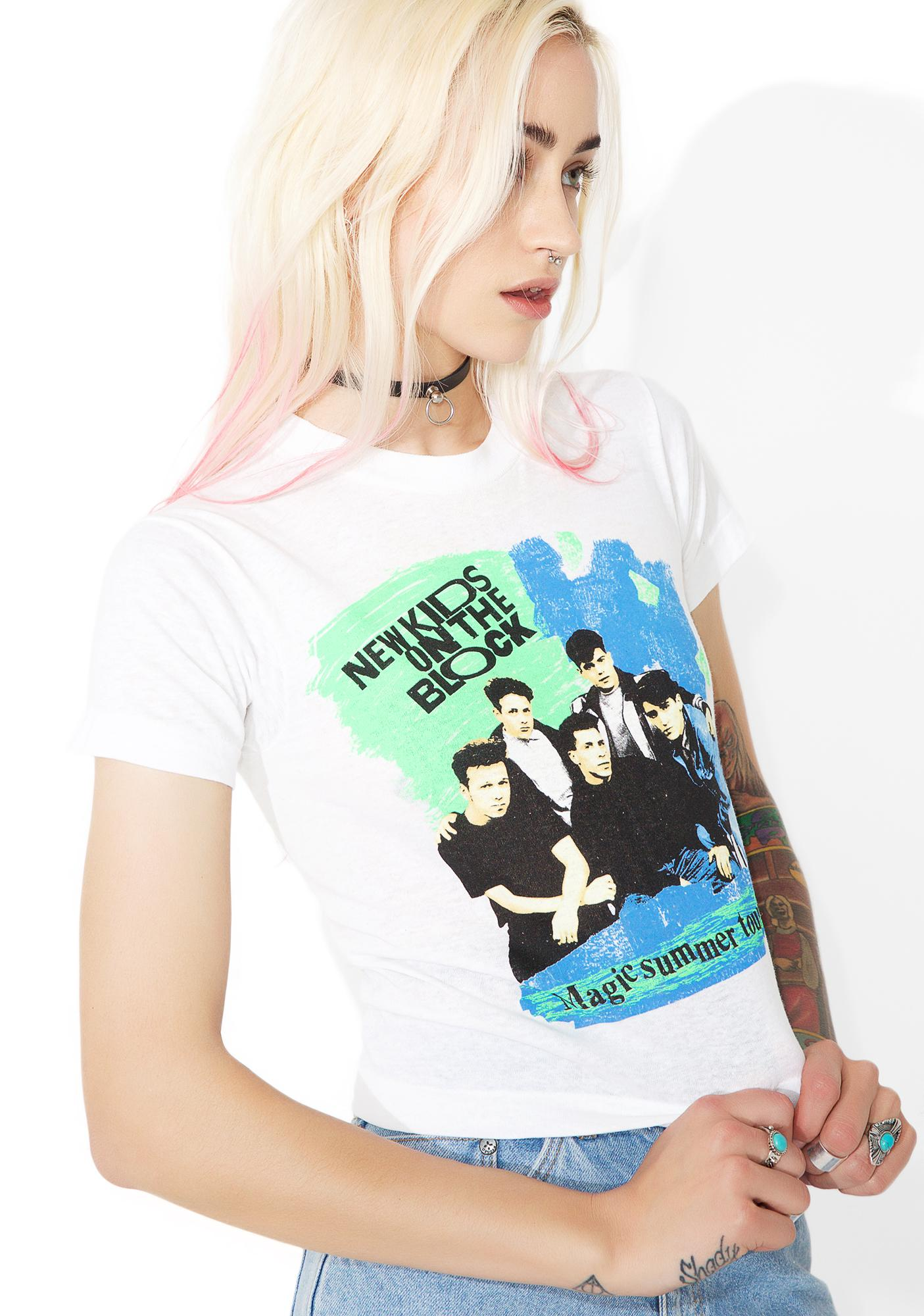 Vintage 90s New Kids On The Block Tour Tee