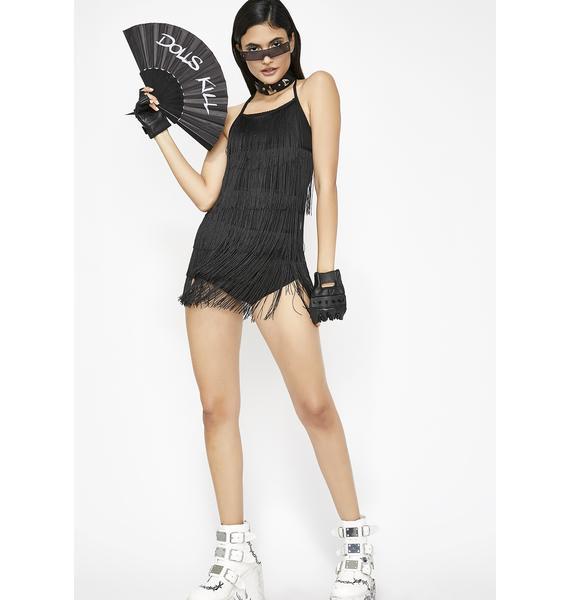 Shake It Off Fringe Bodysuit