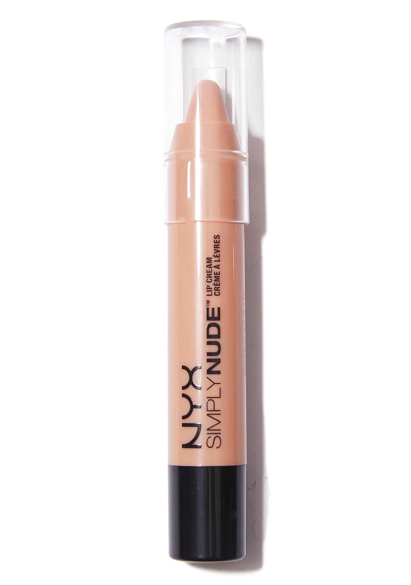 NYX  Peaches Simply Nude Lip Creme