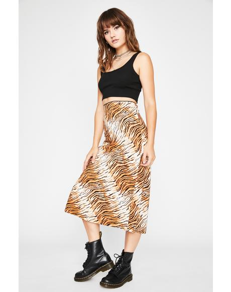 Bite Me Midi Skirt