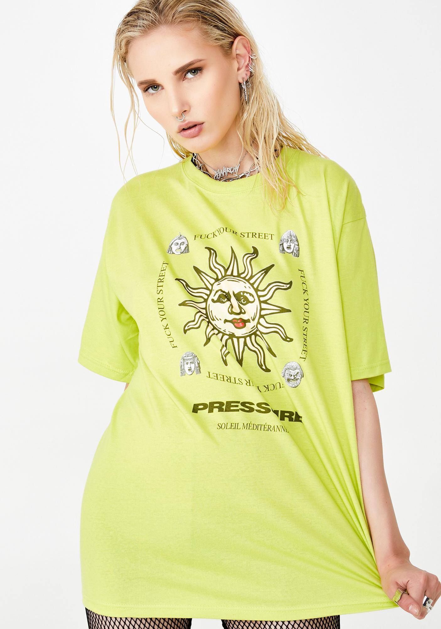Pressure Clothes Big Sun Tee