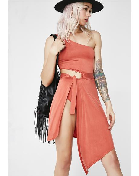 Sunset Aleja Midi Dress