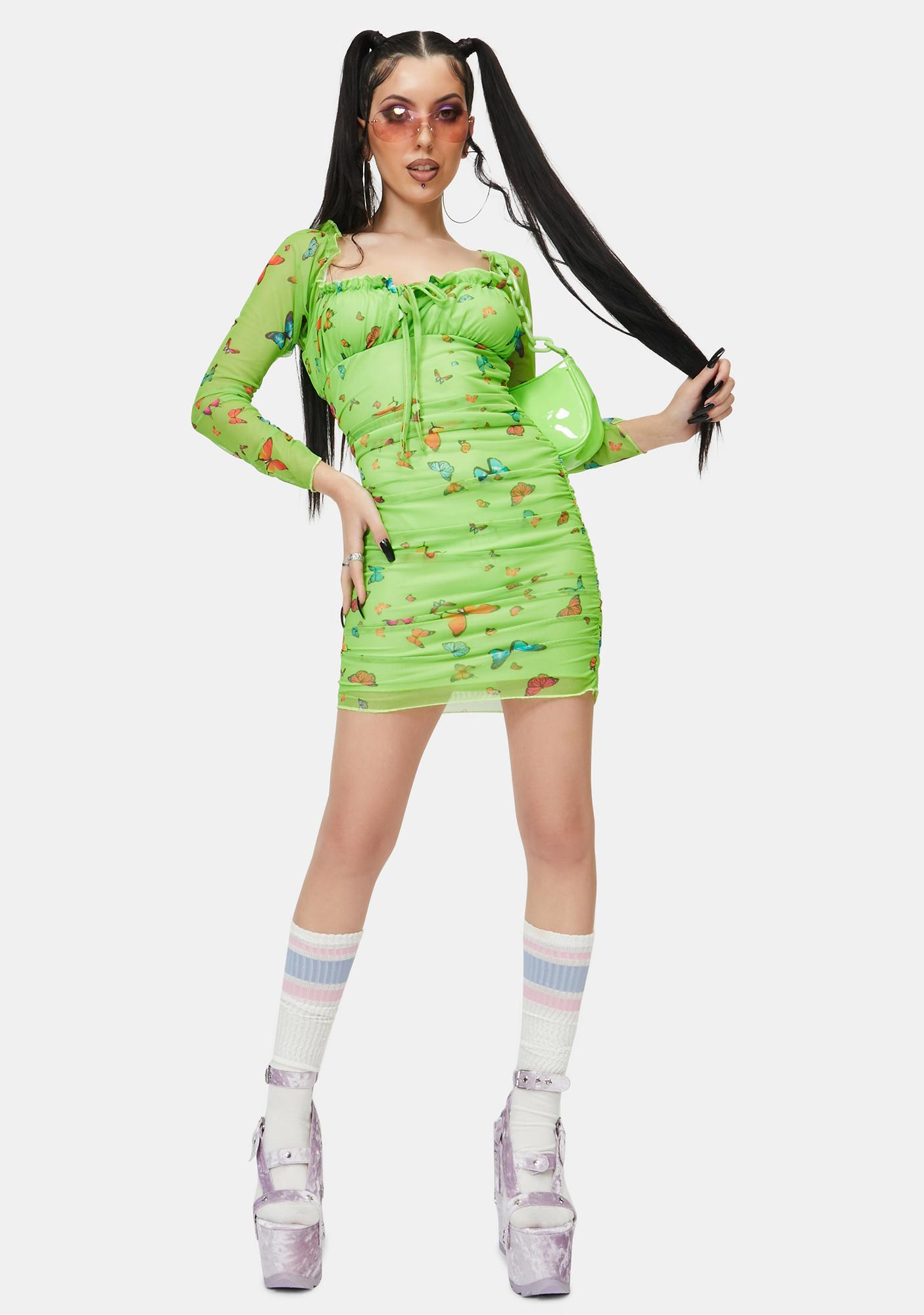 NEW GIRL ORDER Butterfly Dress
