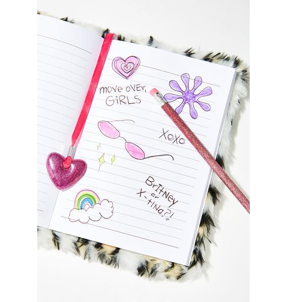 Trade Secrets Furry Notebook