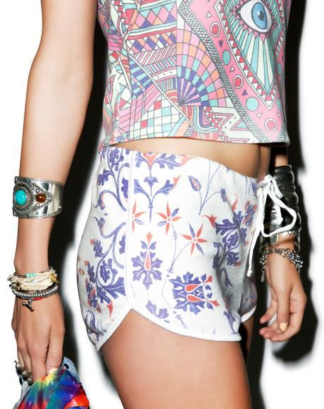 American Paisley Pool Party Shorts