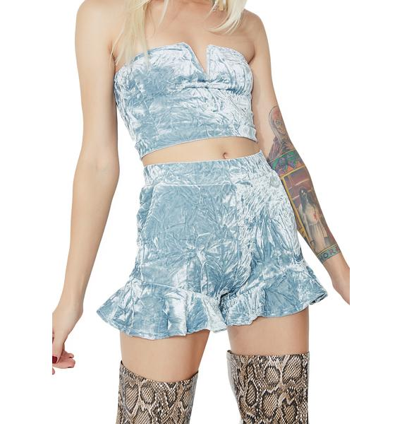 Moon Lit Frill Shorts