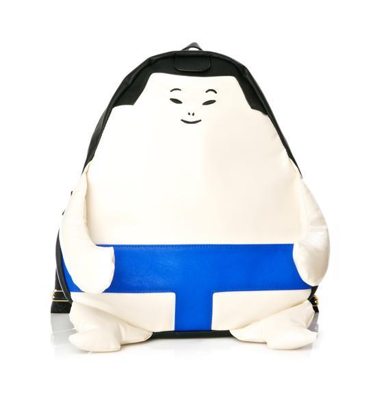 Betsey Johnson Sumo Wrestler Backpack