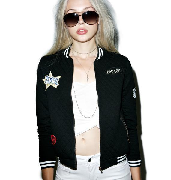 Bad Girl Varsity Jacket