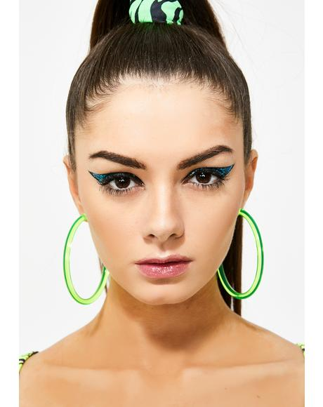 Kush Ravelicious Hoop Earrings