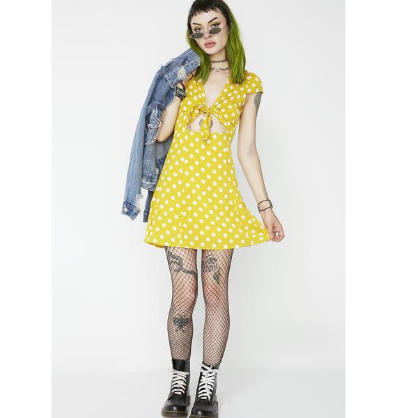Prance Around Polka Dot Dress