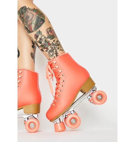 Impala Rollerskates Living Coral Impala Quad Skates