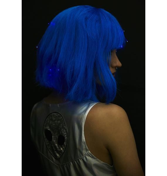 Cosmic Cutie Light-Up Wig
