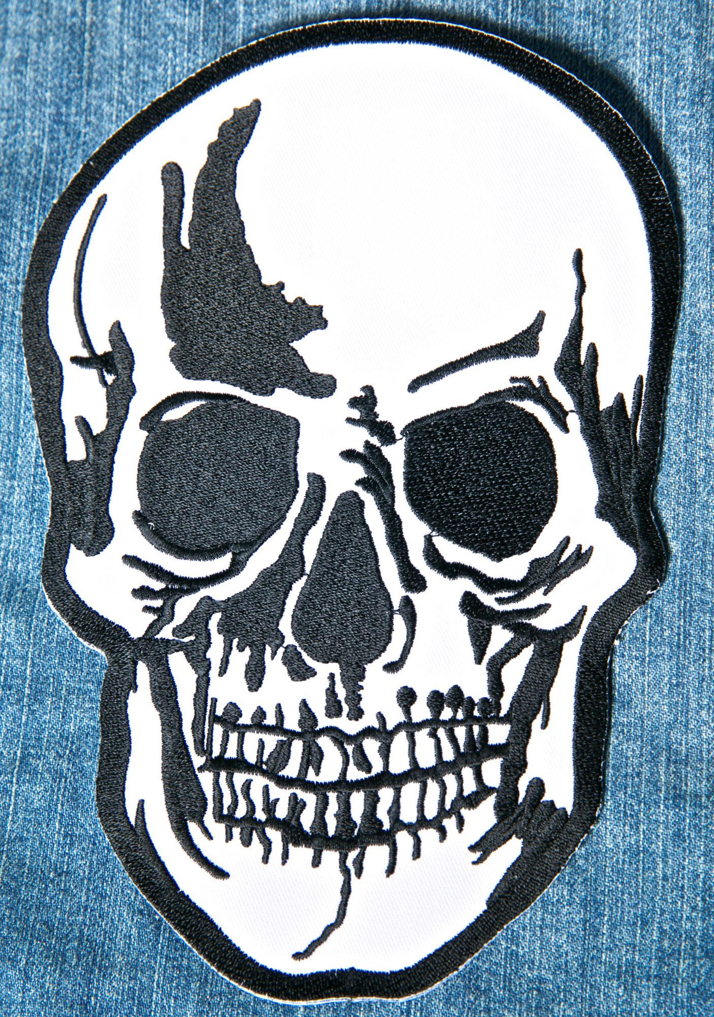 Large Dead Head Patch
