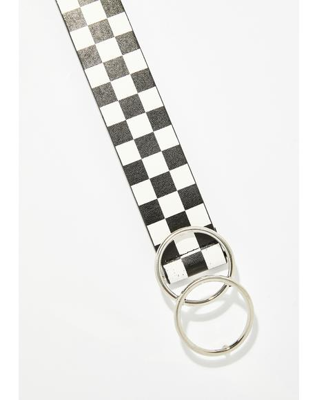 Wicked Ultra Radiation Checkered Belt