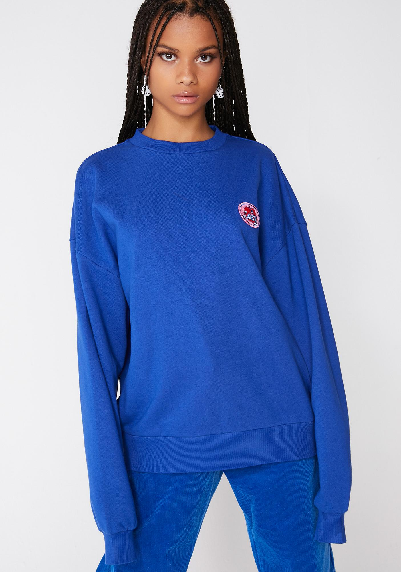 Lazy Oaf Fruit Sticker Sweatshirt