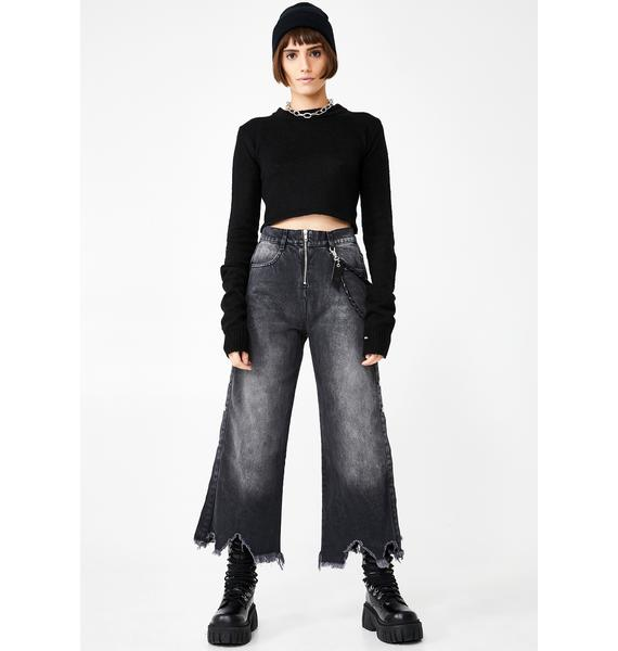 Disturbia Molly Wide Leg Jeans
