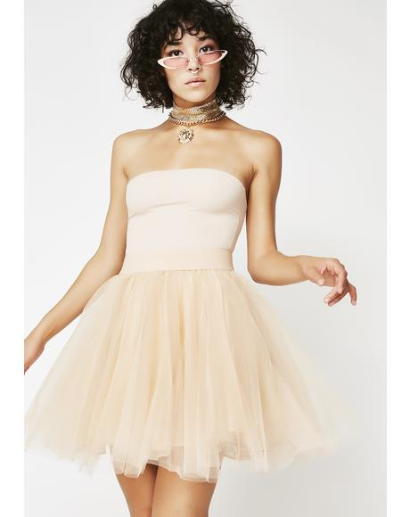Nude Mami Tutu Skirt