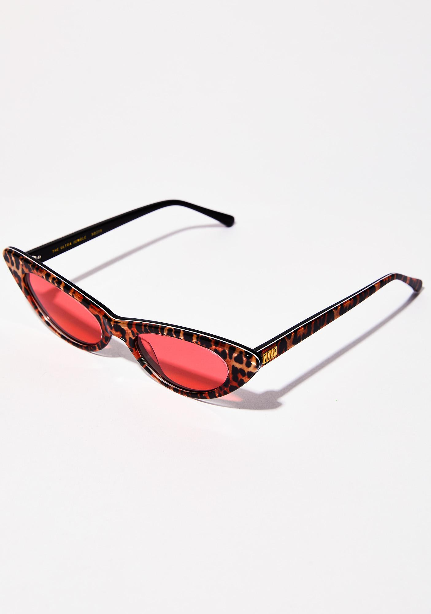 Crap Eyewear Leopard Ultra Jungle Sunglasses