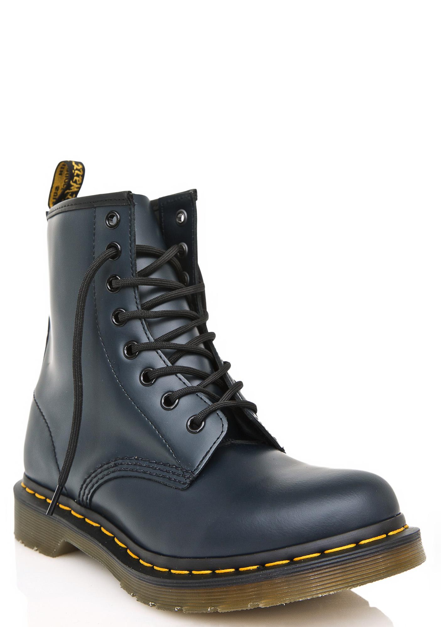 Dr. Martens Navy 1460 8 Eye Boots