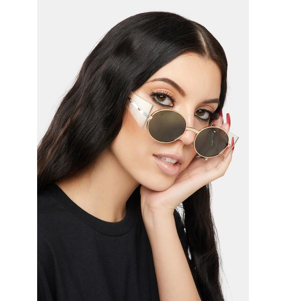 Always An Icon Circle Sunglasses