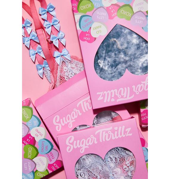 Sugar Thrillz Stoned Heartz High Waisted Panty