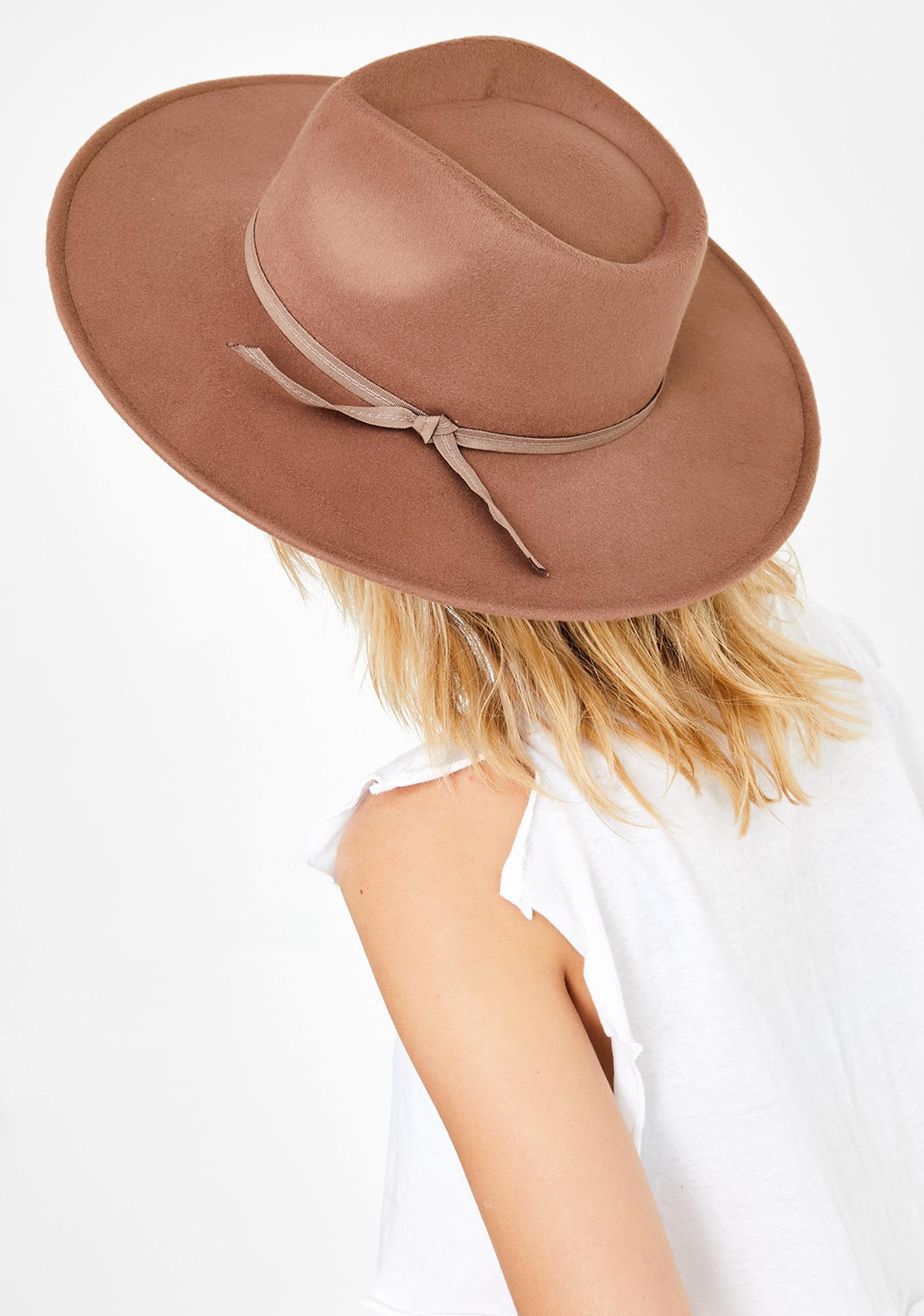 Flying Low Wide Brim Hat