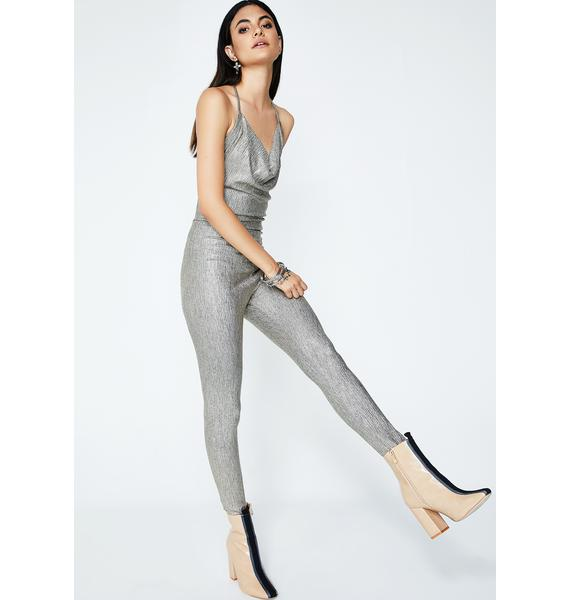 Late Night Call Halter Jumpsuit