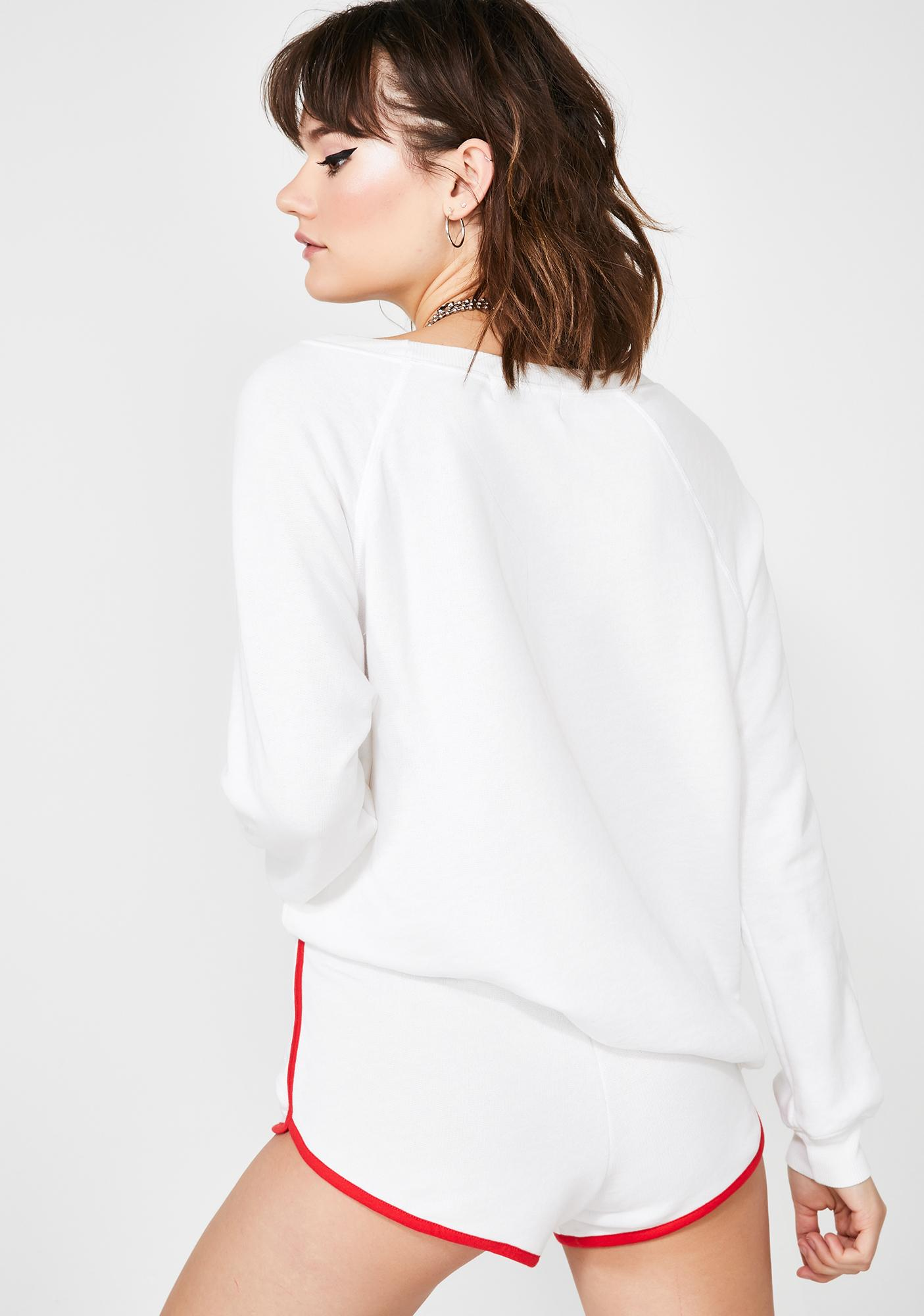 Wildfox Couture Burning Love Sommers Sweatshirt