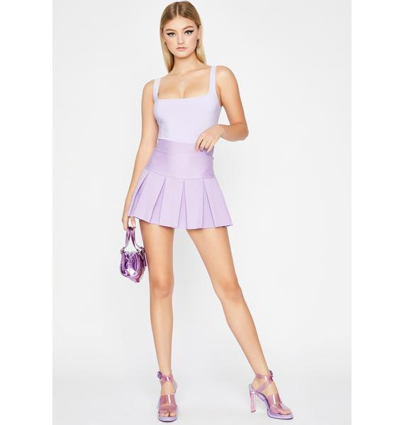 Lilac Dope Vibes Tank Bodysuit