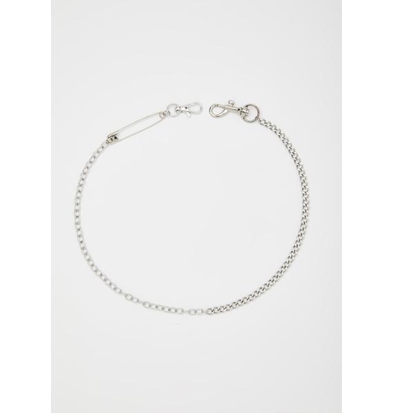 Darby Attitude Chain Necklace