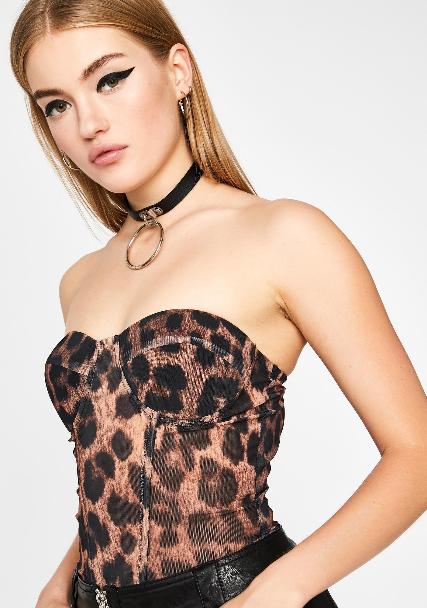 Fierce Factor Bustier Top