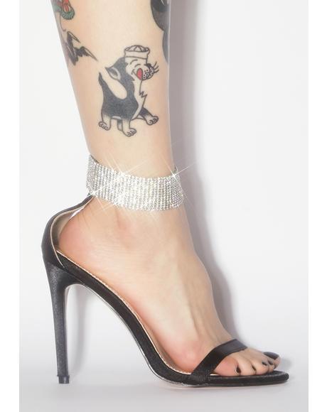 Glamorous Rhinestone Heels