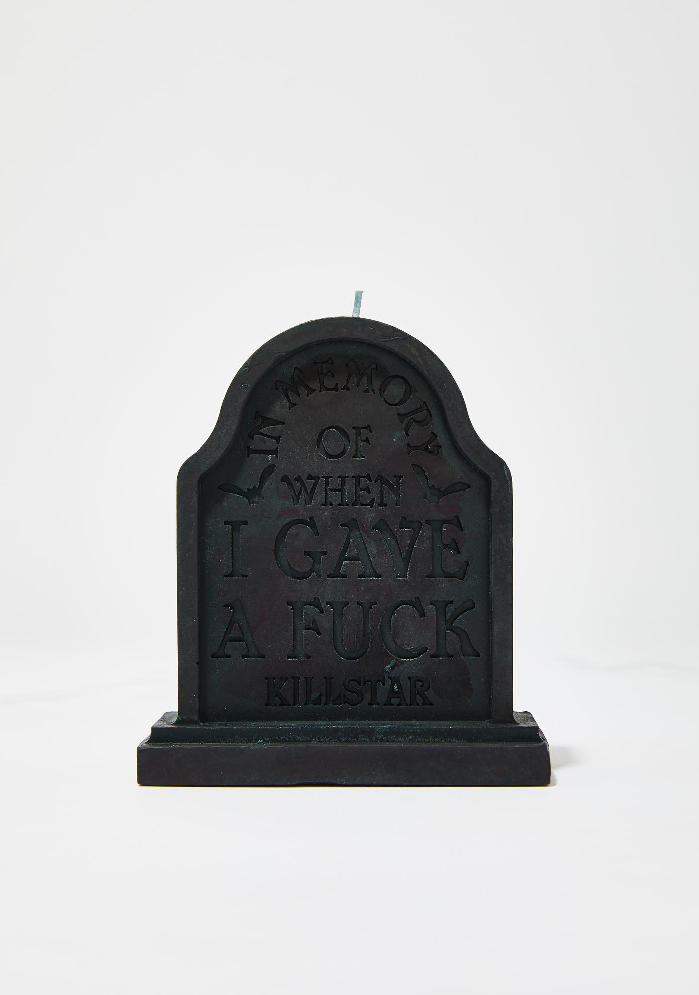 Killstar In Memory Candle