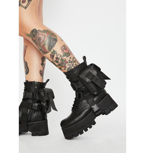Poster Grl Who Gon' Handle Me Ankle Boots