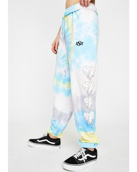 Together Tie Dye Sweatpants