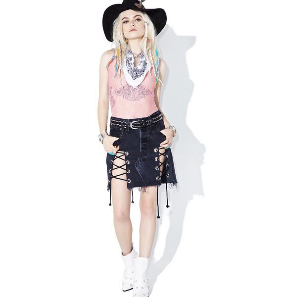 Glamorous Sugar Rush Lace Bodysuit
