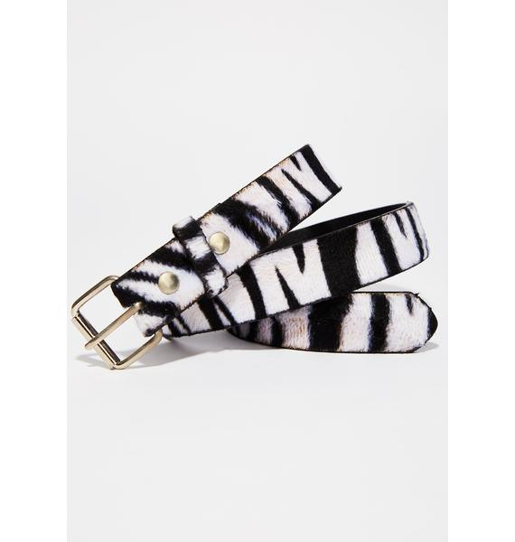 Wildlife Zebra Belt