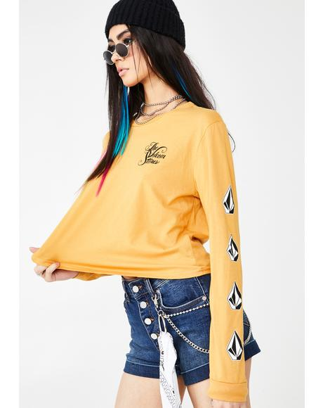The Volcom Stone Long Sleeve Tee