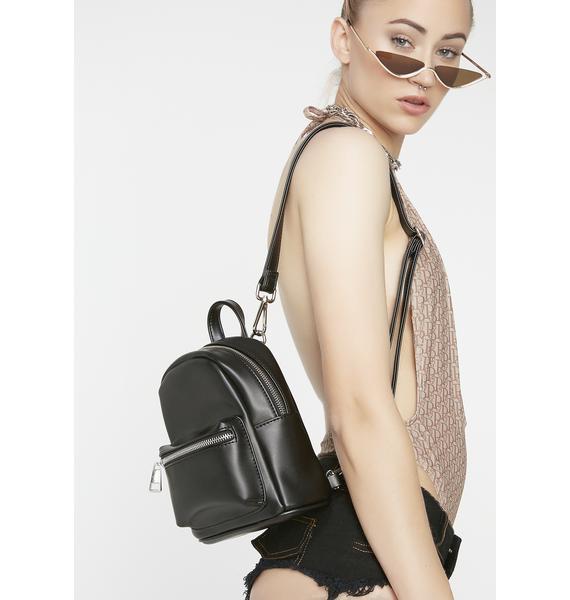 Poster Grl I'll Be Blunt Mini Backpack