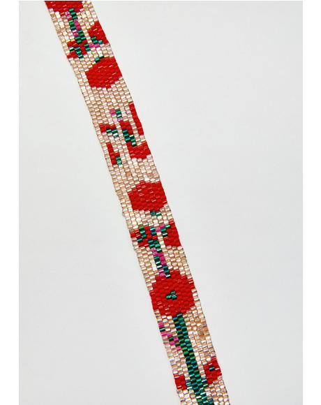 Princess Poppy Beaded Choker
