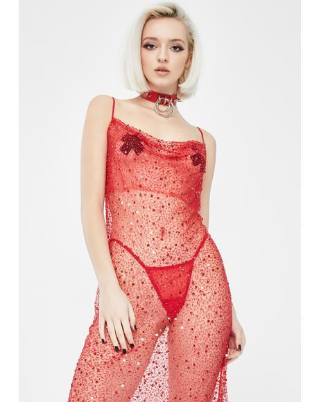 Madonna Midi Slip Dress