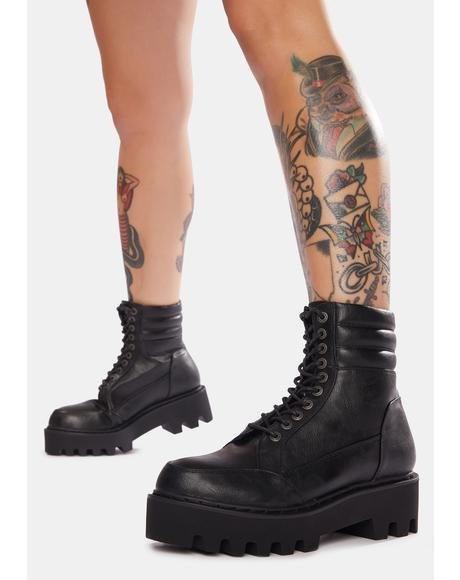 Challenges Chunky Commando Boots