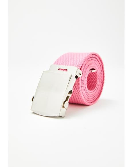 Candy Street Tactics Canvas Belt