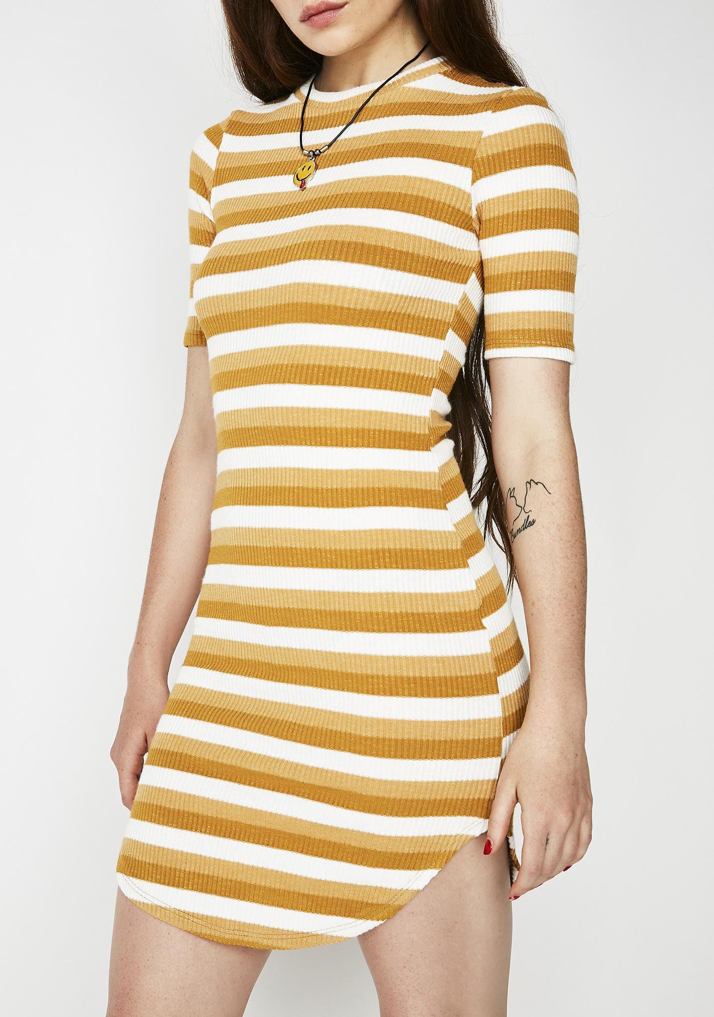 c47884a9a8ecc ... Creamsicle Mod About You Striped Dress ...