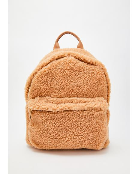 Fluff N' Tumble Sherpa Backpack