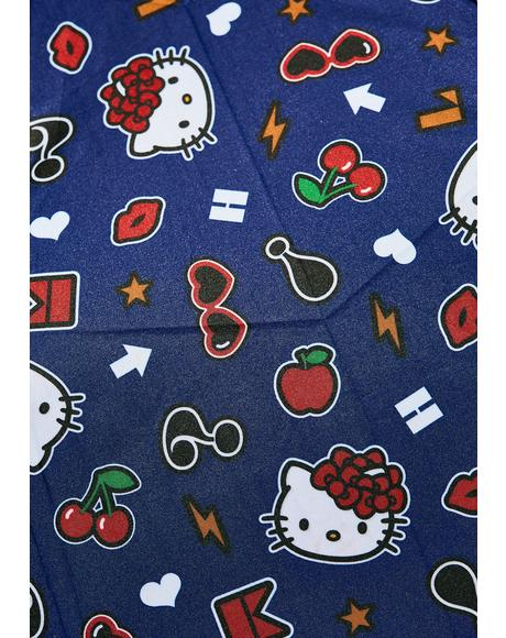 Hello Kitty Tokidoki Folding Umbrella