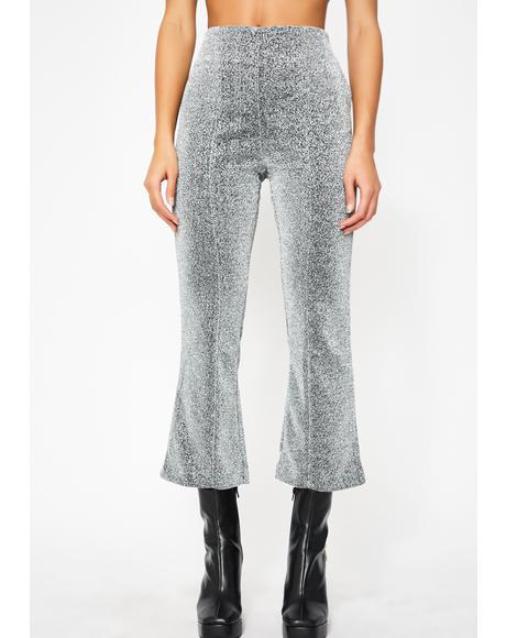 Electric Spark Flare Trousers