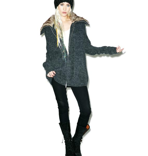 Mink Pink What's Real Cardigan