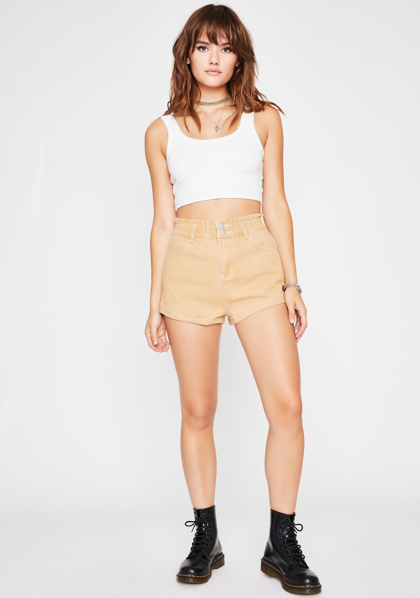 Keep It Chill Denim Shorts